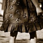 """""""a brown dress in fall"""" by realmoments"""