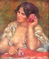 Gabriele with a Rose