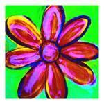 """""""Pink Flower  Poster"""" by michaeltodnelsonart"""