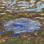 """Pulling a Boat to Shore at Drying Pond"" by spiritualartist"