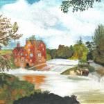 """watermill"" by Rachelpeglerartworks"