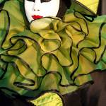 """""""Green Ruffle with Mini"""" by DonnaCorless"""