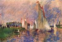 Regatta in Argenteuil