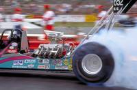 Top Fuel racer