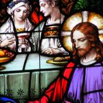 """Jesus Alive - Quebec City CHURCH STAINED GLASS WIN"" by tsr"
