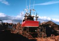 Boat Repairs At Arbroath