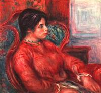 Woman in the Arm Armchair