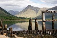 The old Pier, Glen Etive