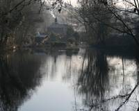 Winter on Hayle Mill Pond