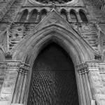 """Holy Name Cathedral Door"" by SecondCityImage"