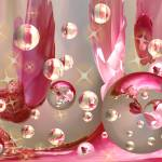 """Pink Bubbles"" by tricia"