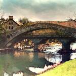 """Old Bridge Pontypridd"" by JoanRye"