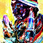 """massai man"" by cashell"