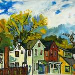 """_DSC3085_B Highland Park Houses"" by sayeghfineart"