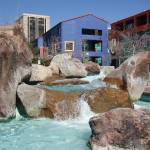 """Fountains in downtown Tucson"" by PhotographyBySakura"