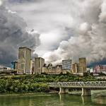 """Storm Over Edmonton"" by watamyr1972"
