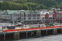 Approaching Ketchikan