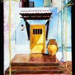 """yellow door"" by mcbek"