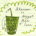 """SHANNON VS SODA"" by emilyrose"