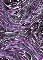 Purple Nebula Abstract