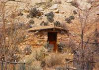 Shack in the Rocks, New Mexico
