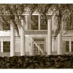 """Stewart House_DUOtone"" by BetsyCraig-cyiART"