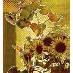 """Modern Florals: Sunflowers"" by karynlewis"