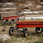 """Vintage Red Wagons"" by dkocherhans"