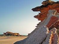 Rocks at Port Beach, Broome