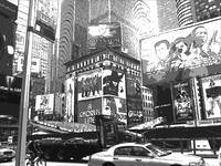 NY Black white gray funky photography real heart