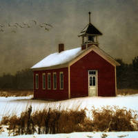 """Amish School House"" by Karen Hunnicutt-Meyer"