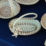 """Sweetgrass basket with handle"" by lesillphotography"