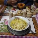 """Hmm.nice hot Tibetan mushroom noodles"" by NishaRana"