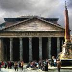 """Roman Pantheon"" by knightvision"