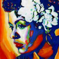 """Lady Day-Billie Holiday"" by Vel"