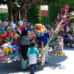 """Balloon lady"" by wmhwilson"