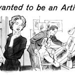"""1959 Artist -- mail-order art school ad"" by arcaniumantiques"