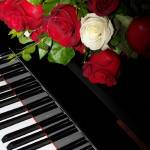 """Roses on Piano"" by photosbyveronica"