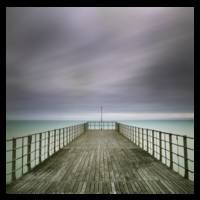 End of the pier - Colour - Square