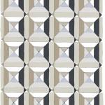 """squares and diags neutral gray"" by LeslieTillmann"