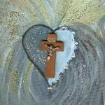 """Healing from the cross unframed"" by Rieworld"