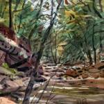 """Sope Creek 3 8.5x10.5"" by maiergallery"