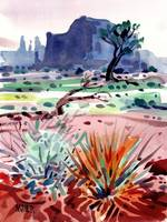 Buttes and Mesas 12x16