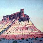 """Chimney Rock oil"" by maiergallery"
