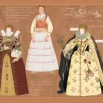 """A Queen Elizabeth I paper doll"" by davidclaudon"