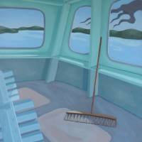 Hyak in Green Art Prints & Posters by Sally Banfill