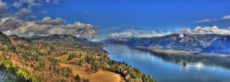 0038 Columbia River Gorge Panoramic