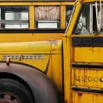 """Vintage School Buses"" by dkocherhans"