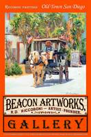 Riccoboni Paintings Old Town San Diego Poster