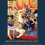 """Riccoboni Carousel poster Beacon Artworks Gallery"" by BeaconArtWorksCorporation"